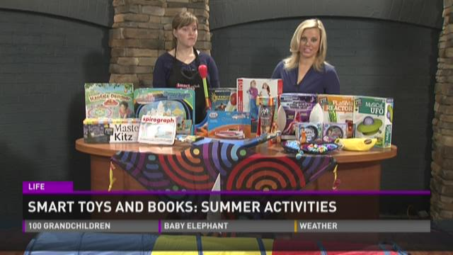 Smart Toys and Books: Summer activities