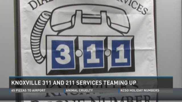 Knoxville 311 partnering with 211 to serve the city