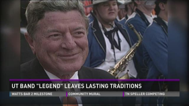 Longtime UT band leader left lasting traditions
