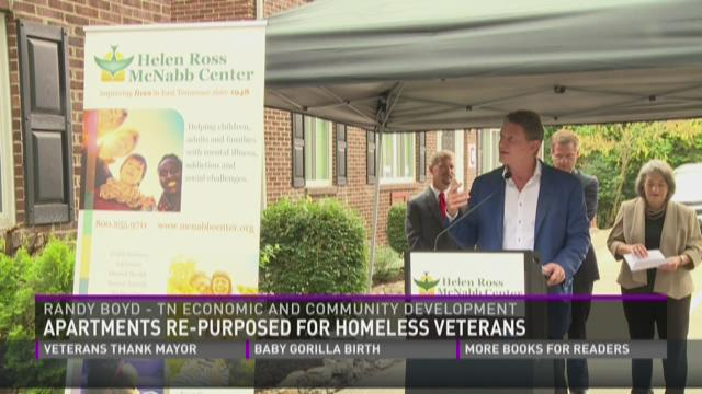 Apartments reworked for homeless vets