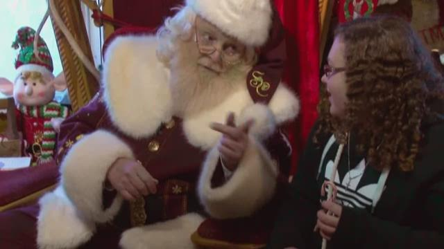 Santa's Claus-et features well-known Gatlinburg character
