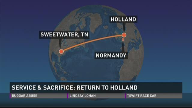 Service & Sacrifice Return to Holland