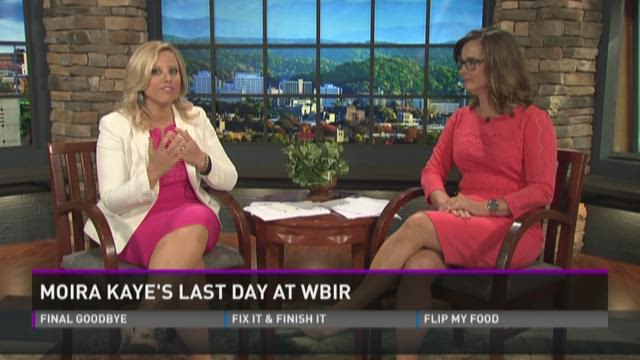 Moira says goodbye on Fox43