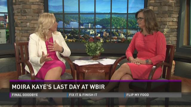 Moira Kaye's last day at WBIR