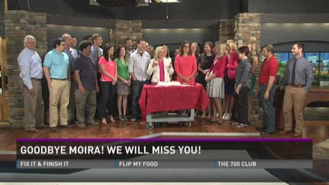 Goodbye Moira!