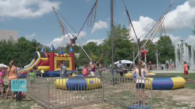 Ten About Town: World's Largest Kid Party