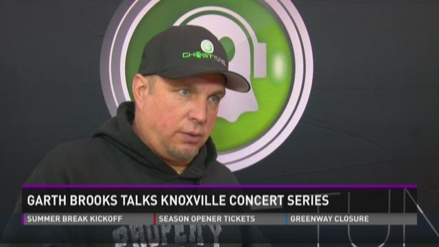 Garth Brooks talks Ktown concert series
