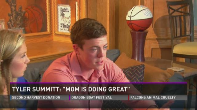 Tyler Summitt talks about mom, clinic
