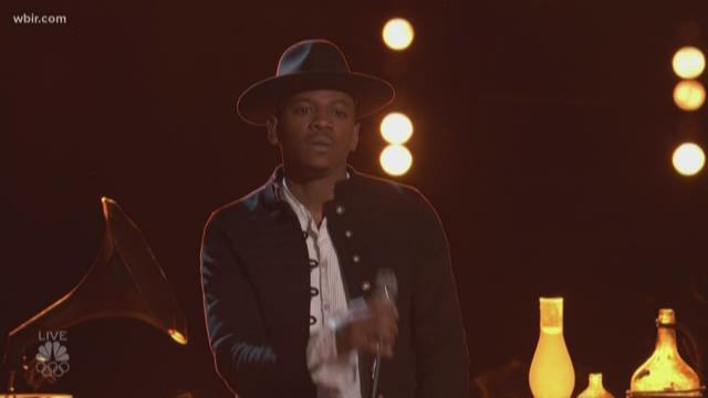 Chris Blue returns to The Voice with finale performance
