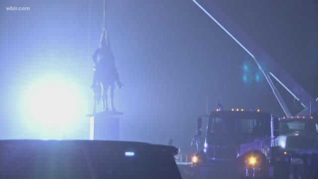 Confederate Statues Removed After Memphis Sells Public Parks