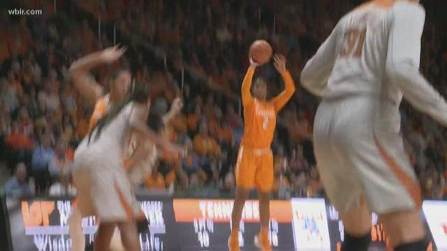 Lady Vols fall to A&M in OT, end 15-game winning streak