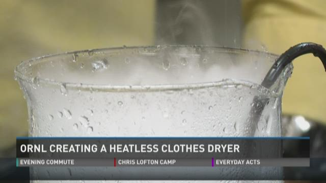 ORNL developing a heat-less dryer
