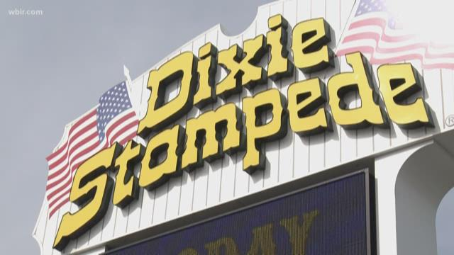 'Dolly Parton's Dixie Stampede' dropping 'Dixie' from name