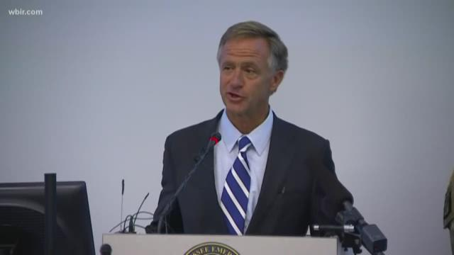 In address, Haslam challenges Tennessee to 'be the best'