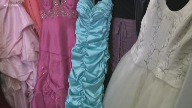 Free dresses make prom possible for everyone