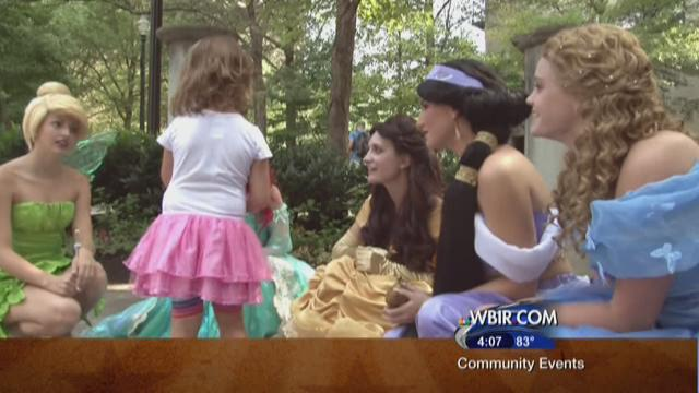 Sisters enrolled at UT have started a business that provides fairy tale characters