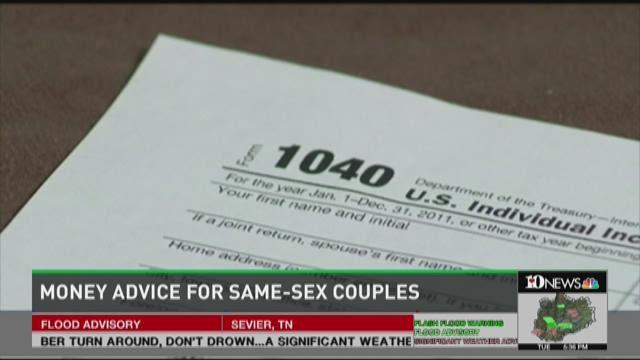 Same-sex couple finances