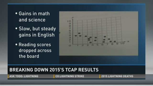 TCAP results show good results, some need for progress