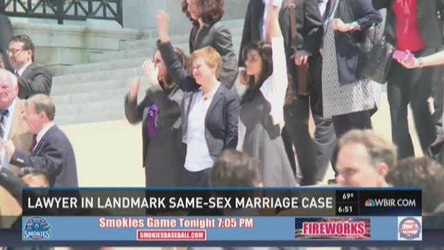 Lawyer in same-sex marriage case