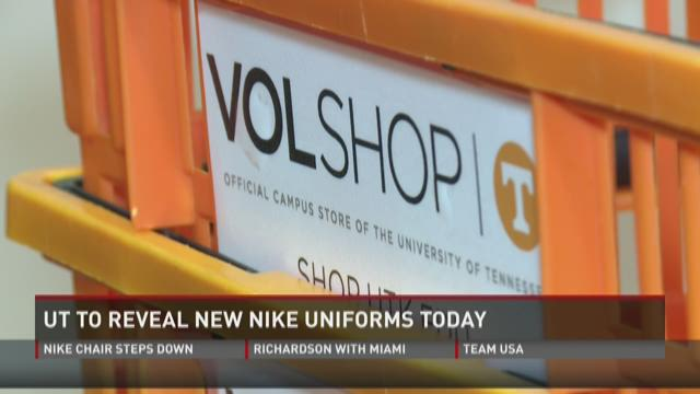 UT to reveal new Nike uniforms Wednesday