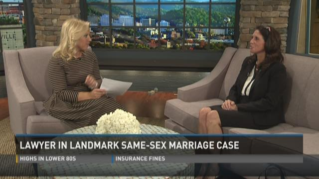 Lawyer in landmark same-sex marriage case