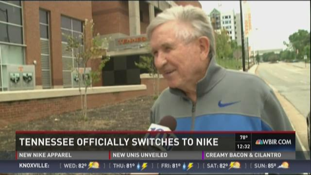 Former UT football coach on Tennessee's switch to Nike