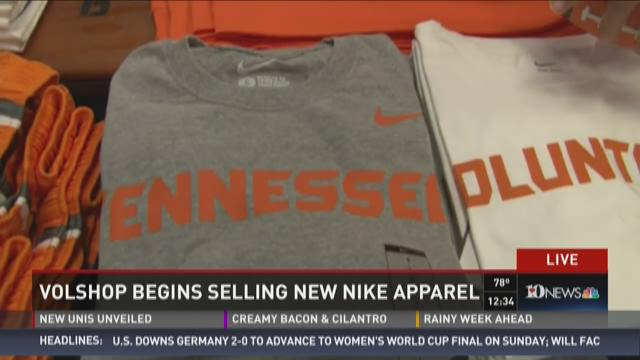 VolShop begins selling new Nike apparel