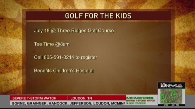 Golfers for God event for ETCH