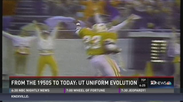 And Finally: Evolution of UT uniforms