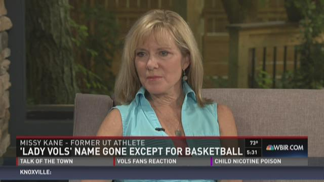 Lady Vols name gone except for basketball team
