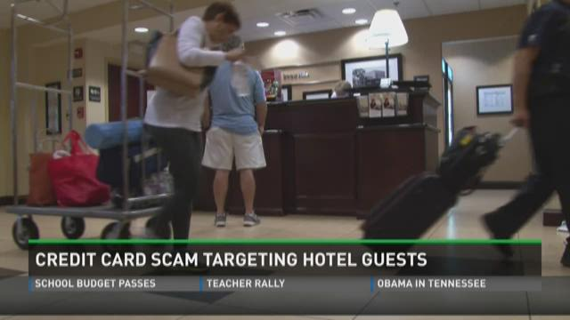 Credit card scam targets hotel guests