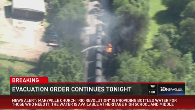 What we know at 6 pm: Blount County train derailment