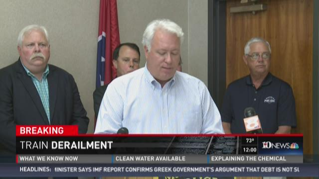 News conference: Evacuation lifted in Blount County