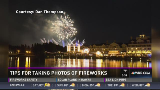 How to get the best pictures of fireworks