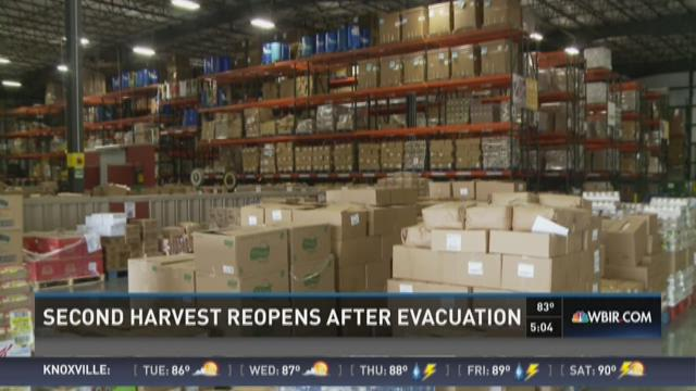 Second Harvest reopens after Blount evacuation