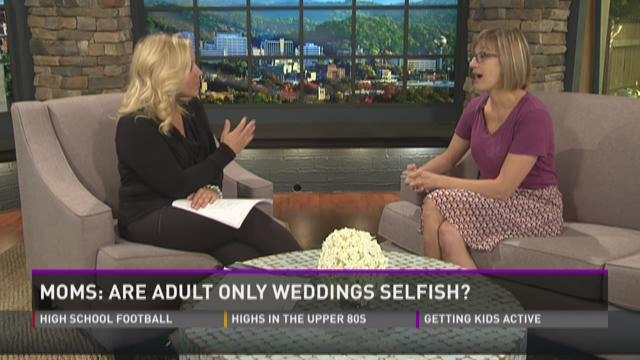 Moms Panel: adult weddings, school application forms