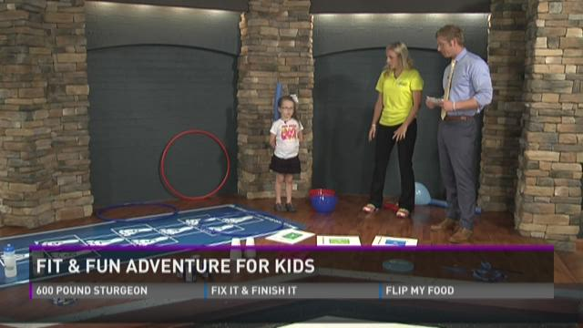 Fit and Fun Adventure for kids
