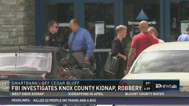 Family kidnapped, forced to rob bank