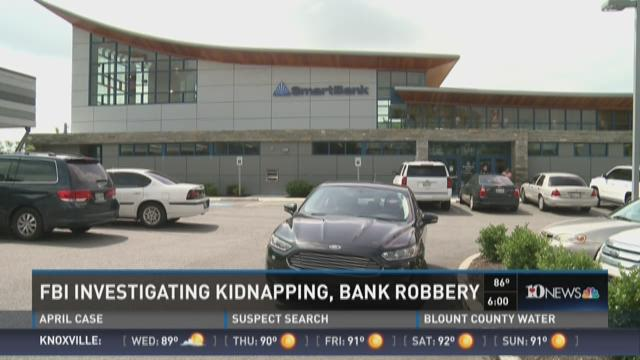 FBI Investigating Kidnapping and Bank Robbery