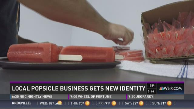 Local popsicle business gets new identity