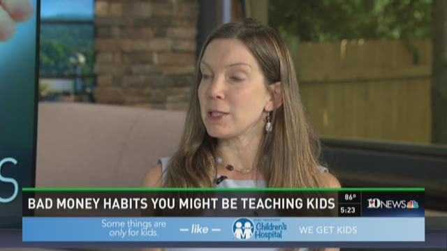 Bad money habits you might be teaching your kids