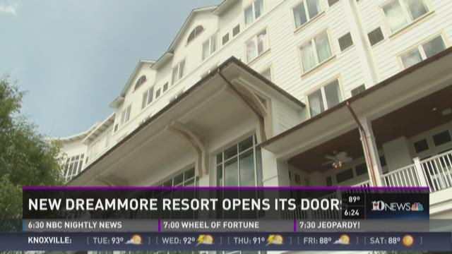 And Finally: DreamMore resort opens its doors