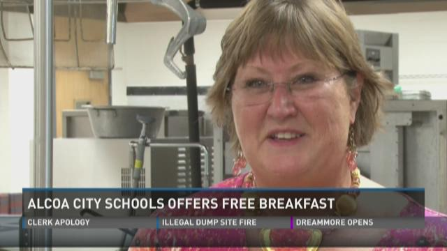 Alcoa City Schools offers free breakfast