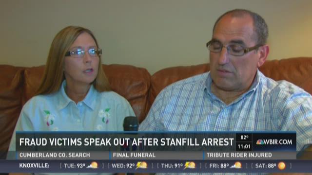 Victims speak out after financial adviser's arrest