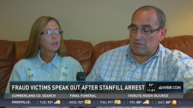 Victims speak out after financial adviser's arrest