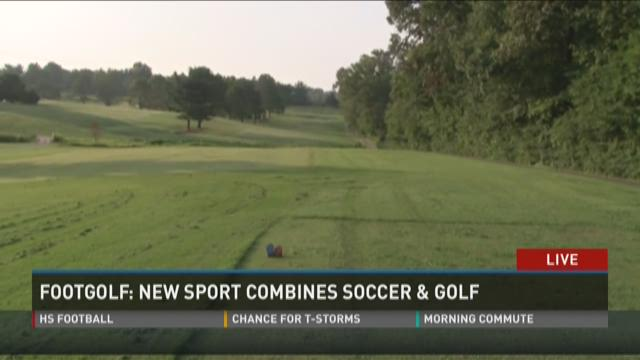 Footgolf: New sport combines soccer and golf