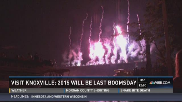 Visit Knoxville: 2015 will be last Boomsday