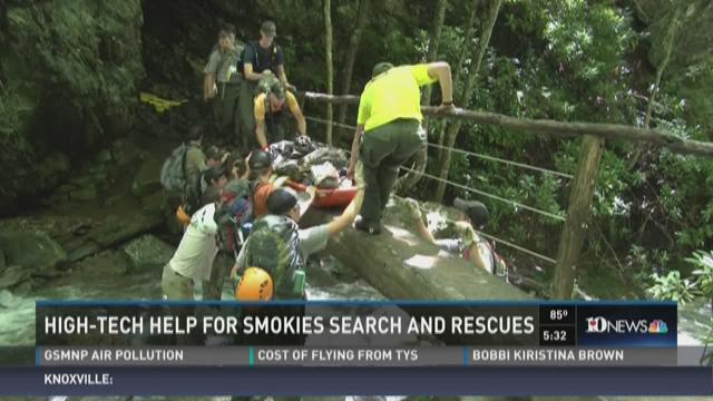High-tech help for Smokies search and rescues