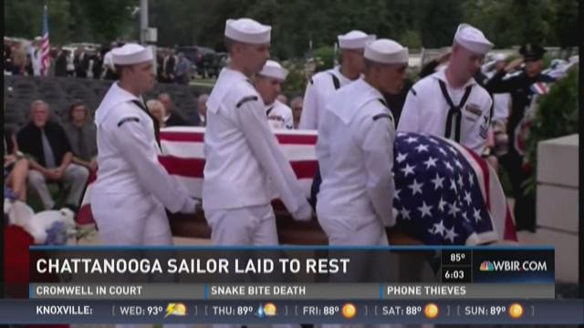 Chattanooga sailor laid to rest