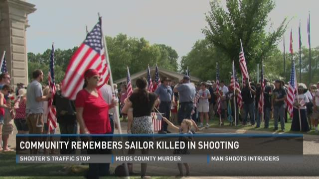 Community remembers sailor killed in shooting